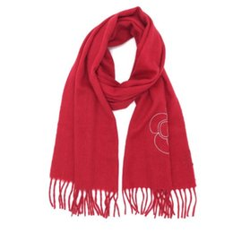 bd8a318ee74 Brand new design red color 100% cashmere material keep warm long scarves  for women size 180cm - 33cm