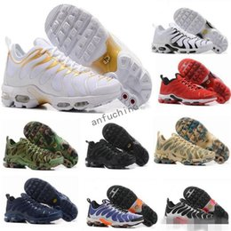 Wholesale hot cakes - New Running Shoes Men TN Shoes Sell Like Hot Cakes Fashion Increased Ventilation Casual Shoes Olive Cargo GS Sneakers Shoes, Free Shipping
