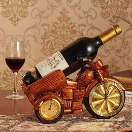2019 opere d'arte del motociclo Spedizione gratuita Creativo forma di moto in resina artigianato figurine regalo del vino del vino titolare / cremagliera opere d'arte in resina per la decorazione della tavola opere d'arte del motociclo economici