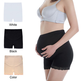 2fd6393518eb0 Hot Sale Safety Short Pants Under Skirts for Women Lace Trousers underwear  3 Colors Pregnant Safety Short Pants Boyshort