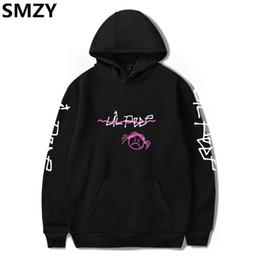 Wholesale black hip hop singers - SMZY Lil Peep Hooded Sweatshirt Men Long Sleeve Autumn Cotton Casual Pop Hip Hop Fans Sweatshirts Men Famous Rap Singer Clothes