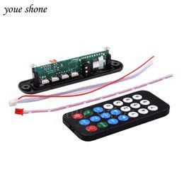 Wholesale Power Supply Board Usb - DC Micro USB Power Supply TF Radio MP3 Decoder Board 5V Audio Module for Car 12V 5V NEWEST HOT SALE