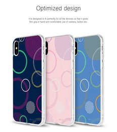 Wholesale iphone mercury cover - Jelly Clear Printing Bumper Case MERCURY GOOSPERY Shockproof Cover For iphone X 8 7 plus Samsung S9 S8 plus Note8 A8 2018 LG Retail Package