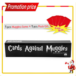 Wholesale Paper Holiday Cards - Free 2013 Holiday Gift Cards Against Muggles Party Game For Adult The Harry Potter Version IMMEDIATELY DELIVERY