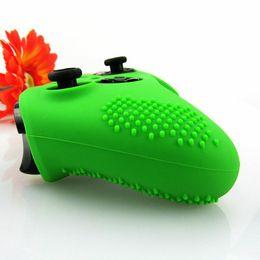 2019 xbox un controlador cubre nueva llegada Flexible Antislip Silicone Soft guardias Funda protectora de la piel Protector de la cubierta para Xbox One Controller Xbox one Elite + Funda de silicona xbox un controlador cubre baratos