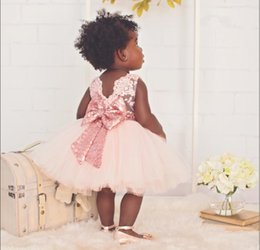 Wholesale girls dresses for events - Baby Events Party Dress Tutu Tulle Gorgeous Infant Christening Gowns Children's Princess Dresses For Girls Toddler Evening Dress