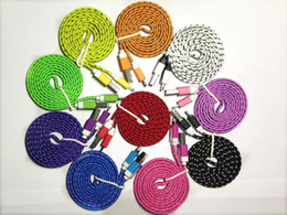 Wholesale colorful iphone cords - 100cm Colorful USB Data Sync Charger Cable Micro USB Data Sync Charger Cable Cord Wire For 5 5s 6 6s 7 8 Plus