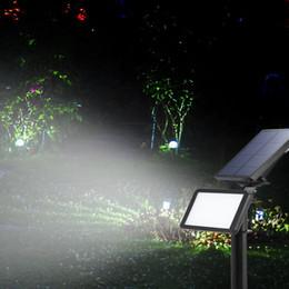 spots au sol Promotion FVTLED Projecteur Solaire Réglable 48 LEDs Solaire In-Ground Light Étanche Mur Lumière Paysage pour Jardin Extérieur 1pcs 2pcs 3pc