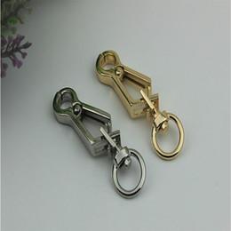 Raccordi chiave online-10pcs / lot accessori hardware del bagaglio gancio bucklen catena chiave aragosta catenaccio accessori hardware gancio collegamento fibbia del cane
