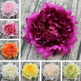 2019 fiore di caduta 13 cm fiore artificiale peonia bouquet europeo autunno vivid fiori falsi per la cerimonia nuziale casa nuovo anno partito decor fiori di seta t1i575 sconti fiore di caduta