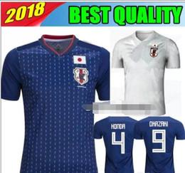 03213955560 2018 World Cup Japan Soccer jersey Top Thai quality KAGAWA OKAZAKI HASEBE  NAGATOMO customized name number home away Football shirts