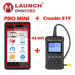 Wholesale Ford Free Software - 2018 Launch X431 Pro Mini with bluetooth wifi 2 years free update Online full system obd2 diagnostic tool creader 519 as gift