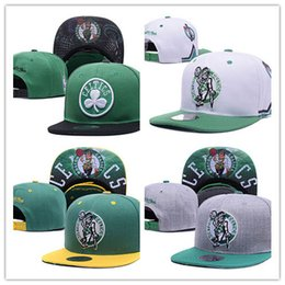 Wholesale pink top hats - Top Sale new style basketball Snapback Hats sports boston Caps Men&Women Adjustable Football Cap Size More Than 10000+ style