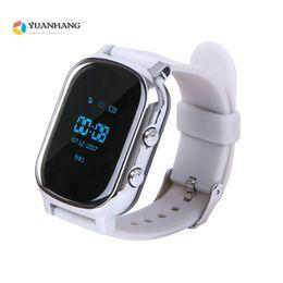 Ребенок gps-трекер часы браслет онлайн-GPS Tracker Smart Watch T58 for Kids Children Elder GPS Bracelet Google Map Sos Button Tracker Gsm WI-FI Locator Smartwatch