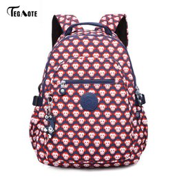 Wholesale Mini Monkeys - TEGAOTE Cartoon Kids Cute Backpacks Monkey Mini Schoolbag for Teenage Boys Girls Backpacks Stars Children School Bags Best Gifts