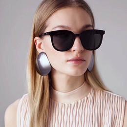 Wholesale gentle white - GENTLE MONSTER Sunglasses Cat eye Women Brand Designer Gradient glasses Summer 2018 Luxury eyewear Fashion Female eyeglasses oculos Ma Mars