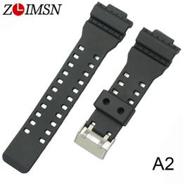 швейцарские часы Скидка ZLIMSN Rubber Strap Wrist Men Black Silicone Watchbands  Sweatband Watch Band Sport Straps Watchband