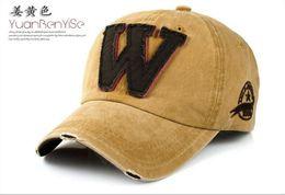 Wholesale Sunshade Caps - Wholesale Cowboy Baseball Cap W Letter Denim Customized for Men and Women Sunshade Good Quality Hat Cheap