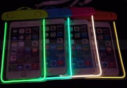 Canada Hot vente PVC LED étanche à écran tactile téléphone mobile cas de natation étanche sac de smartphone Offre