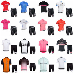 Wholesale Mountain Tours - TOUR DE ITALY team Cycling Short Sleeves jersey (bib) shorts sets new style men Bike Clothing Mountain bike Sportwear D1316