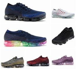Wholesale Outdoor Hot Springs - Wholesale New Vapormax Casual Shoes For Men Sneakers Women Fashion Sport Shoe Hot Corss Hiking Jogging Walking Outdoor Shoe Size 36-45