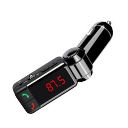 Автомобильный Bluetooth FM-передатчик Hands Free Bluetooth Car Kit MP3 Audio Player беспроводной модулятор USB зарядное устройство для мобильного телефона от