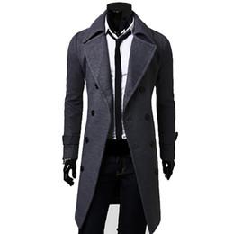 2018 otoño e invierno nuevos hombres chaqueta rompevientos abrigo de lana color sólido simple de alta calidad de algodón fresco delgado caballero desde fabricantes