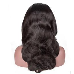 prix à moitié perruque Promotion Brésilien Body Wave Lace Front perruque de cheveux humains brésiliens vierges en dentelle vierge pour les femmes noires couleur naturelle
