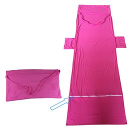 Wholesale Bamboo Blankets Wholesale - Beach Chair Towel Cover Deck Chair Blankets Portable Incidental Strap Microfiber Beach Towels Double Layer Fabric Blanket 28dl V