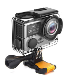 chip rock Promo Codes - Bestselling EKEN H6s Action Camera 4k 30fps Ultra HD with Ambarella A12 chip inside 30m waterproof Go mini cam pro sport Camera EIS