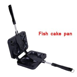 Wholesale Fish Grill - Wholesale- Hot Sale Non-stick Fryer Pan Double Side Fish Cake Grill Fry Pan