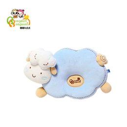 Wholesale Rolling Seat - Bongdoli BongsuniNewborn Baby Infant Pillow Memory Foam Prevent Flat Head Anti Roll support Neck