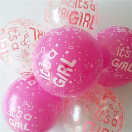 Wholesale Clear Latex Balloons - 30pcs lot happy birthday decorated balloons with clear blue balloon helium balloons