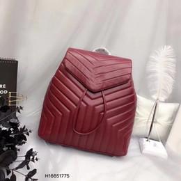 Borsa casuale dello zaino dei sacchetti di spalla online-Donne di qualità di trasporto libero borsa di cuoio femminile pochette zaino designer donne borsa a tracolla casuale
