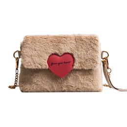 LIXUN Simple Heart Printed Women Crossbody Bags Fashion  Flap Sling Letter Chian Shoulder Bag Messenger Handbags sac a main supplier brand sling bags от Поставщики фирменные сумки