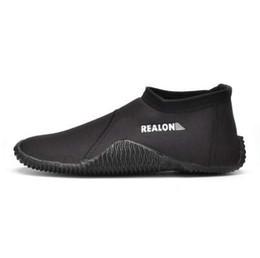 Zapato de invierno frío online-Zapatos para nadar 3MM SCR Botas de buceo de neopreno Antideslizante a prueba de resbalón antideslizante antideslizante Mantenga aletas calientes de invierno de pesca