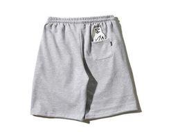 Wholesale Man Women Boxer - popular ripndip Claw mark loose men and women sports shorts pants , couple beach pants kanye hip hop Harlan pants