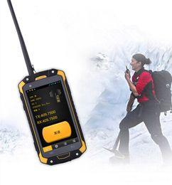 vídeo quente mms Desconto IP68 Telefone À Prova D 'Água Walkie Talkie 3G Telefone Móvel MTK6582 1.3 GHz NFC Quad-core OTG GPS 4.5 polegada Android Smartphone 3000 mAh LEMHOOV L15