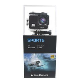 Câmera de ângulo aberto on-line-K5G Ação Câmera PK SJ4000 30 M À Prova D 'Água HD 4 K Esporte Câmera 2.0 Polegada Display LCD 140 Graus Wide Angle Lens Câmera Ao Ar Livre