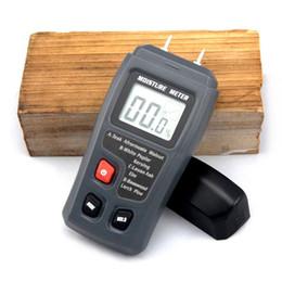 2019 semi di mais all'ingrosso Tinyaa EMT01 0-99,9% Misuratore di umidità digitale a due pin Misuratore di umidità a caldo Misuratore di umidità con igrometro 0,5%