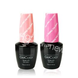Wholesale Long Black Nails - gel nail polish gel varnish polacco smalto gel glitter uv colors Permanent long shine lasting color beauty choices colored