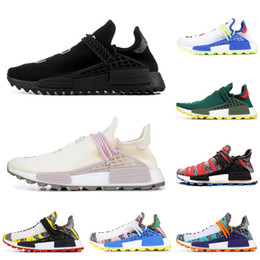 the latest 02e00 5a182 Adidas nmd human race Hu trail pharrell williams hommes chaussures de course  NERD SOLAR PACK chaussures de sport pour hommes de marque