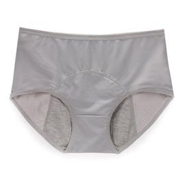 culottes sans couture respirantes Promotion Sous-vêtements physiologiques féminins étanches Menstrual Culottes Culottes Sexy Mesh Respirant Mesdames Culottes sans couture Pantalon Solid