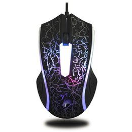 Wholesale X7 Gaming Mouse - X7 4000DPI Wired Gaming Mouse 6 Button LED Optical Computer Mouse Gaming Mice Drop Shipping
