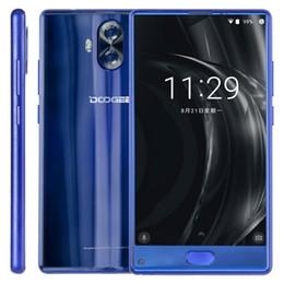 DOOGEE MIX Lite 2 ГБ + 16 ГБ 5,2 дюйма HD рамкой менее задней двойной камеры передний идентификатор отпечатков пальцев MT6737 Quad Core 3080mAh 4G синий черный мобильный телефон от