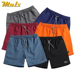 5XL Mens Shorts Summer Cotton Shorts Men Solid Breathable Elastic Waist  Casual Male Shorts Man knickers Plus Size Short Panties e4250f0e6