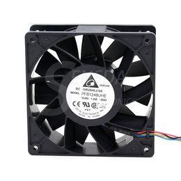 2019 fan dc48v Envío Libre Al Por Mayor Delta Electronics PFB1248UHE -9D43 -6C92 DC48V 1.2A Servidor Ventilador de 4 hilos 120x120x38mm 12cm 120mm fan dc48v baratos
