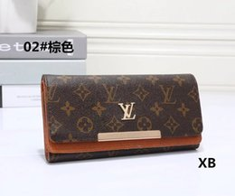 Wholesale korean male style - 2018 Male luxury wallet Casual Short designer Card holder pocket Fashion Purse wallets for men wallets purse with tags free shipping tag A06