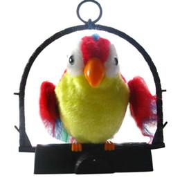 Canada Waving Wings Parler Parler Perroquet Imite Répète Ce Que Vous dites Cadeau Drôle Jouet Jouets pour enfants PAS DE PILE Offre