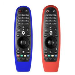 Capa Protetora Remoto À Prova de Poeira de Borracha de Silicone macio para LG AN-MR600 Controle Remoto de TV 100% Novo Marca de Alta Qualidade de